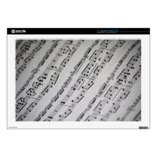 music notes sheet music skins for laptops
