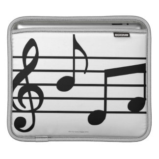 Music Notes Sleeve For iPads