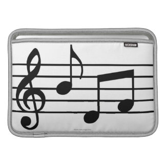Music Notes Sleeve For MacBook Air
