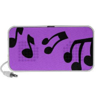 Music Notes Speaker