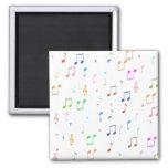 Music Notes & Symbols Fridge Magnet