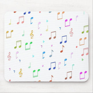 Music Notes & Symbols Mouse Pad