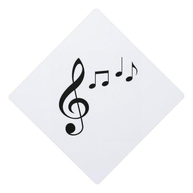 u0026quot music notes u0026quot  tassel topper