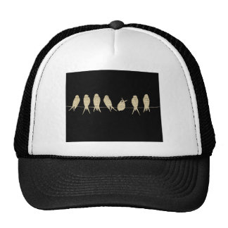 Music Notes Teacher Office Animal Bird Destiny Trucker Hat