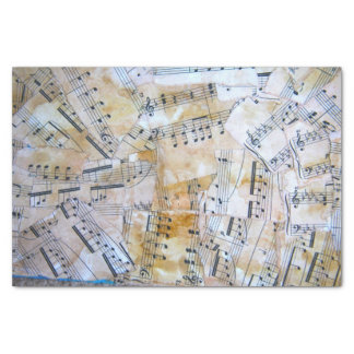 Music Notes Tissue Paper
