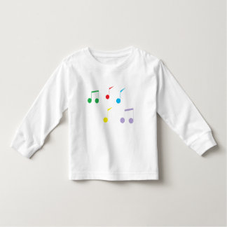Music Notes Toddler Long Sleeve T-shirt