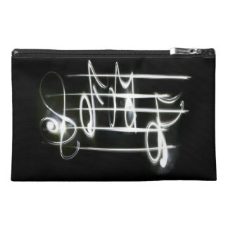 Music Notes Travel Accessory Bag