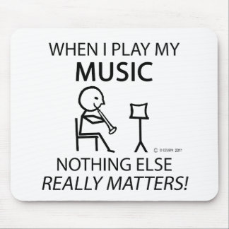 Music Nothing Else Matters Mouse Pad