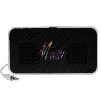 Music nova text script portable speakers