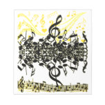 Music of art_ note pads