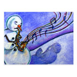 Music of Christmas Postcard