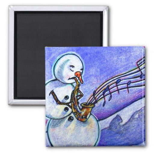 Music of Christmas Refrigerator Magnet