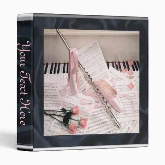 Music of Flute and Keys Binder