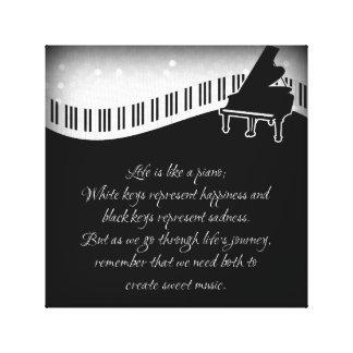 Music of Life Canvas Print