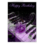 Music Of Love,Purle_ Card