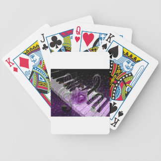 Music Of Love,Purle_ Bicycle Playing Cards