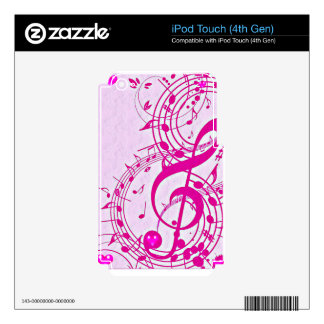 Music of love_ iPod touch 4G decals