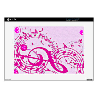 Music of love_ decal for laptop
