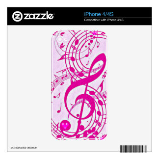 Music of love_ iPhone 4S decal