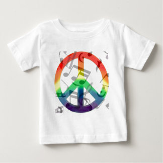 Music of peace_ baby T-Shirt
