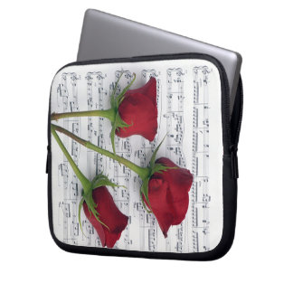 Music of Roses Laptop Sleeve