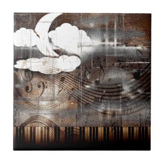 Music of the Night Ceramic Tile