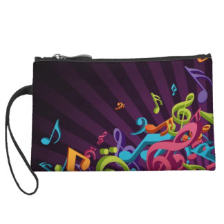 Music on the Horizon Wristlet Wallet