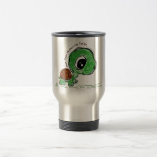 Music Only Makes Me Faster 15 Oz Stainless Steel Travel Mug