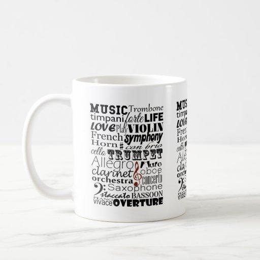 Music Orchestra Mug