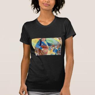 """Music Painting """"Jazz Guitarist"""" Shirts"""