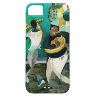 """Music Painting """"New Orleans Jazz"""" iPhone 5 Covers"""