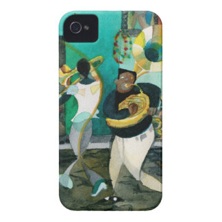 """Music Painting """"New Orleans Jazz"""" Case-Mate iPhone 4 Cases"""