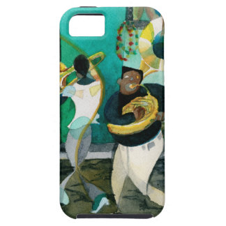 """Music Painting """"New Orleans Jazz"""" iPhone 5 Case"""