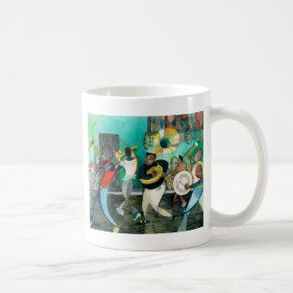 "Music Painting ""New Orleans Jazz"" Coffee Mug"