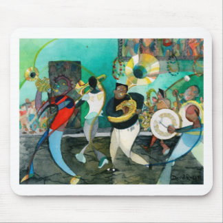 "Music Painting ""New Orleans Jazz"" Mouse Pad"