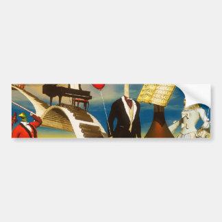 Music Paintings Car Bumper Sticker