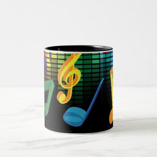 Music Party Background Mug