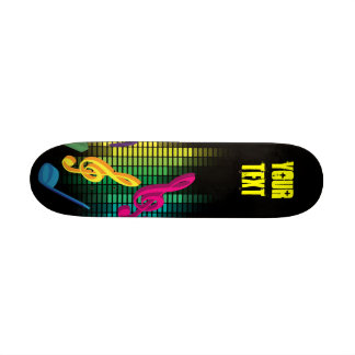 Music Party Background Skate Board Decks