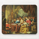 Music Party in a Palatial Interior with Mouse Pad