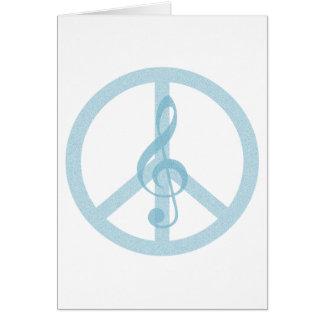 Music Peace Card