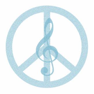 Music Peace Cutout