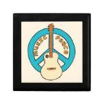 Music Peace Guitar Gift Box