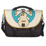 Music Peace Guitar Laptop Bags