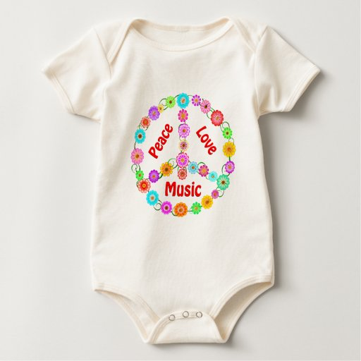 Music Peace Love Romper