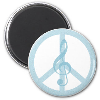 Music Peace Magnet