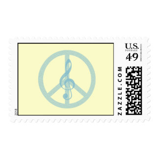 Music Peace Stamps