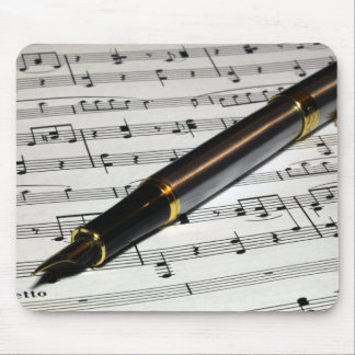 Music & Pen Mouse Pad