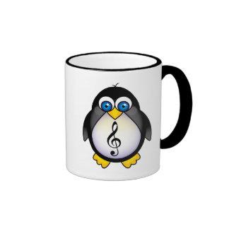 Music Penguin Treble Clef Mug