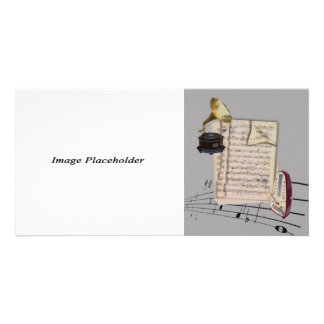 Music Photocard Customized Photo Card