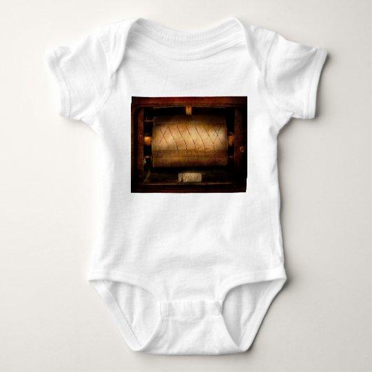 Music - Piano - Binary Code Baby Bodysuit